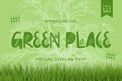 Web Font Greenplace Font Product Image 1