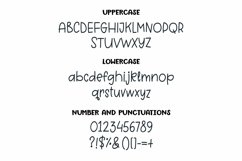 Web Font Grey Pearl - a quirky handwritten font Product Image 3
