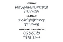 Grey Pearl - a quirky handwritten font Product Image 3