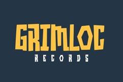 Grimblocks Display Font Product Image 6
