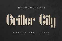 Gritter City Product Image 1