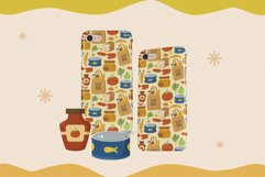 Cute Daily Groceries Seamless Patterns Product Image 2