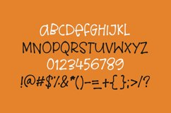Loud Scream - a quirky halloween font Product Image 3