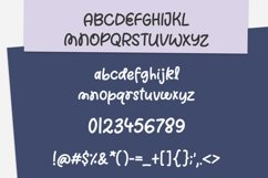 Candy Bells - a quirky handwritten font Product Image 2