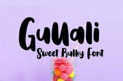 Web Font Gullali - Sweet Bulky Font Product Image 1