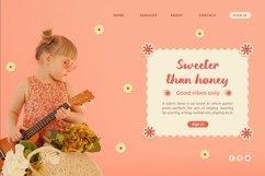 Web Font Gumbies - Cute Handletter Font Product Image 2