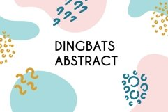 Dingbats Abstract Product Image 1