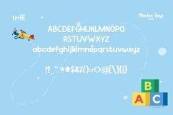 Plastic Toys Basic Serif Kids Product Image 3