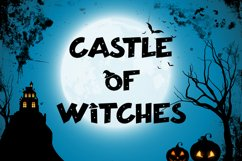 Hallo Witch - Halloween Display Font Product Image 6