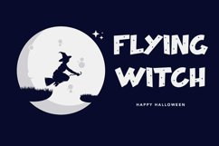 Hallo Witch - Halloween Display Font Product Image 2