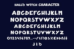 Hallo Witch - Halloween Display Font Product Image 3