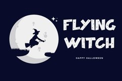 Web Font Hallo Witch - Halloween Display Font Product Image 2