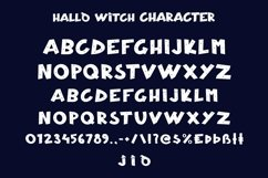 Web Font Hallo Witch - Halloween Display Font Product Image 4