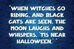 Web Font Hallo Witch - Halloween Display Font Product Image 6