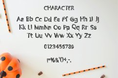 Halloween - cute display font Product Image 2