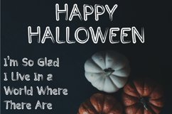 Halloween - cute display font Product Image 5