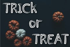 Halloween - cute display font Product Image 4