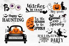 Halloween SVG Bundle, gnome, pumpkin, Halloween quotes Product Image 6