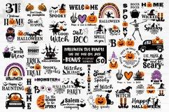 Halloween SVG Bundle, gnome, pumpkin, Halloween quotes Product Image 1