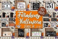 Halloween Svg, Farmhouse Sign, Farmhouse Halloween Bundle Product Image 1