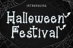 Halloween Festival - A Halloween Display Font Product Image 1