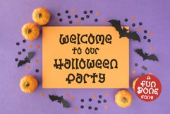 A Halloween font for spooky designs