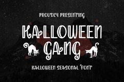 Web Font Halloween Gang - Halloween Font Product Image 1