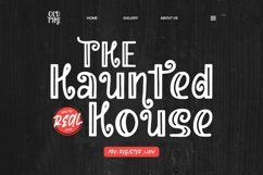 Web Font Halloween Gang - Halloween Font Product Image 3