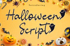 Halloween Script Product Image 1
