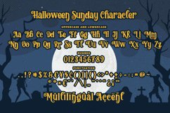 Halloween Sunday - a Playful Scary font Product Image 4