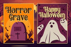 Halloween Sunday - a Playful Scary font Product Image 3