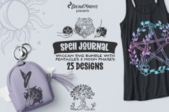 Halloween SVG Bundle | Wicca Witch SVG Bundle with Pentacles Product Image 1