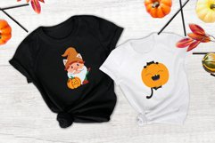 This is a Halloween phrase, boo. The autumn quote with cat, pumpkin, bat and spider is good for holiday designs