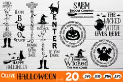 Halloween SVG   Halloween Bundle SVG PNG DXF EPS Product Image 2