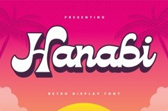 Web Font Hanabi Product Image 1