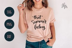 That summer feeling SVG cut file Product Image 2