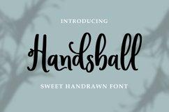 Handsball - Sweet Handrawn Font Product Image 1