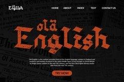 Web Font Handwash - Blackletter Font Product Image 4