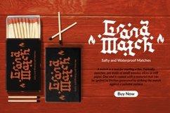 Web Font Handwash - Blackletter Font Product Image 5