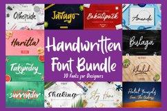 Handwritten Font Bundle Product Image 1