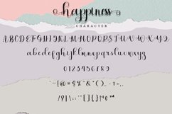 Happiness - Lovely Calligraphy Font Product Image 5