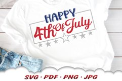 Happy 4th Of July SVG Cut Files Product Image 4