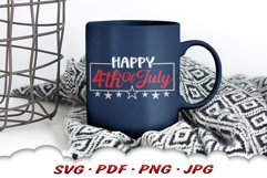 Happy 4th Of July SVG Cut Files Product Image 6