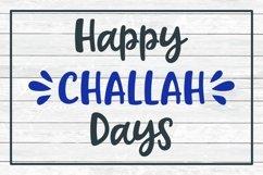 hanukkah svg cut file happy challah days design