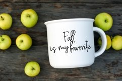 Web Font Happy Fall - A Handlettered Script Font Product Image 2