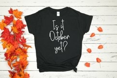 Web Font Happy Fall - A Handlettered Script Font Product Image 3