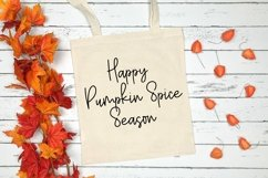 Web Font Happy Fall - A Handlettered Script Font Product Image 4
