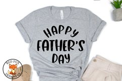 Happy Father's Day SVG   Father's Day   Daddy SVG PNG DXF Product Image 1