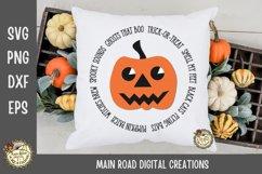 Jack O Lantern Halloween Quote SVG Bundle Product Image 6