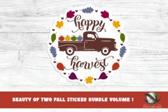 Sticker Bundle Fall Stickers 13 png Fall Printable Stickers Product Image 6